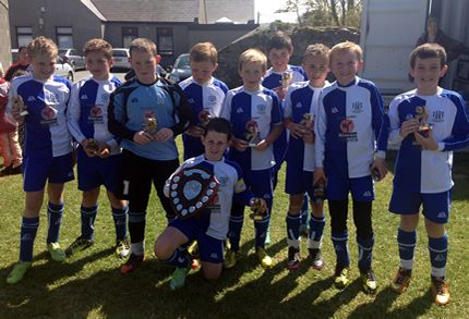Athletic cruise to victory at Amlwch Tournament
